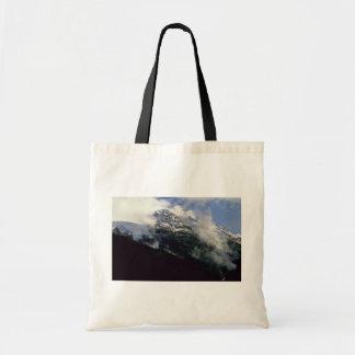 Snow Line Divide Budget Tote Bag