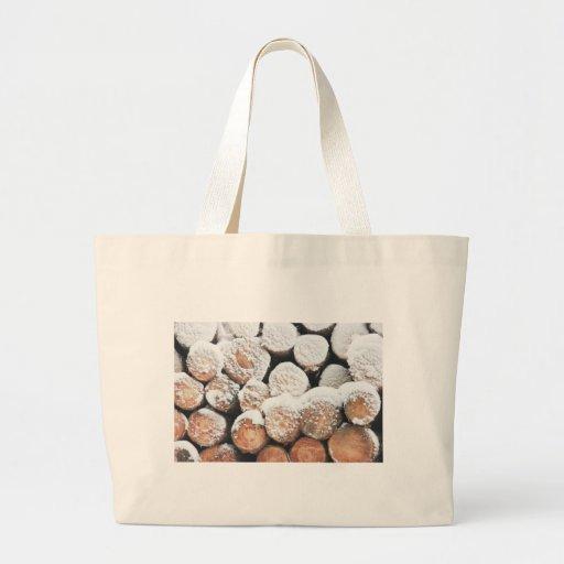 Snow logs bags