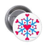 Snow Love Button
