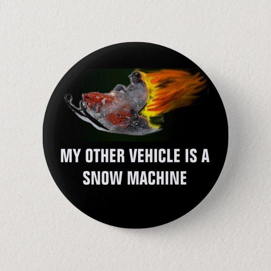 SNOW MACHINES!!!!! 6 CM ROUND BADGE