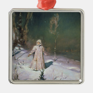 Snow Maiden, 1899 Christmas Ornament