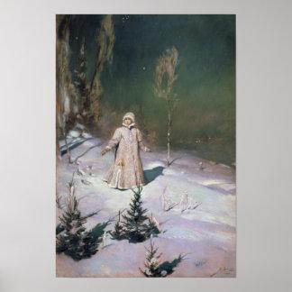 Snow Maiden, 1899 Poster