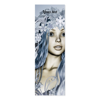 Snow Maiden Business Card Templates