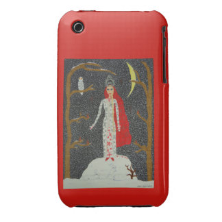 Snow Maiden (Red Version) iPhone 3G Case-Mate iPhone 3 Case