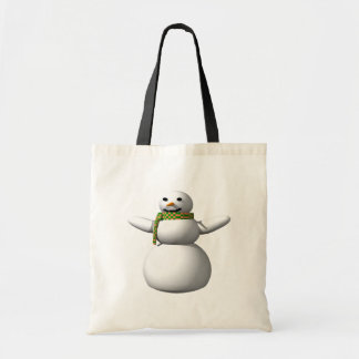 Snow Man 1 Canvas Bags