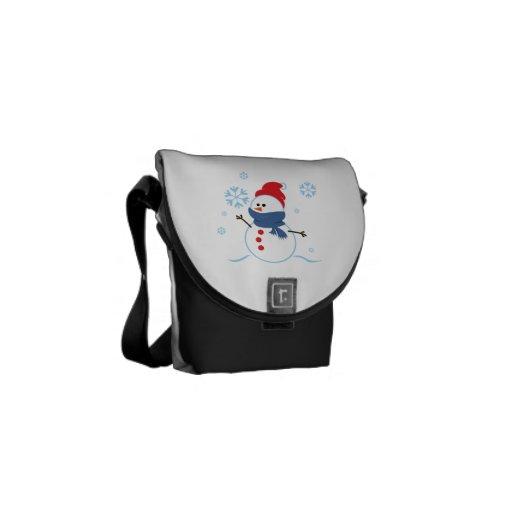 Snow Man 3 Messenger Bag
