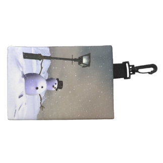 Snow Man Accessory Bag