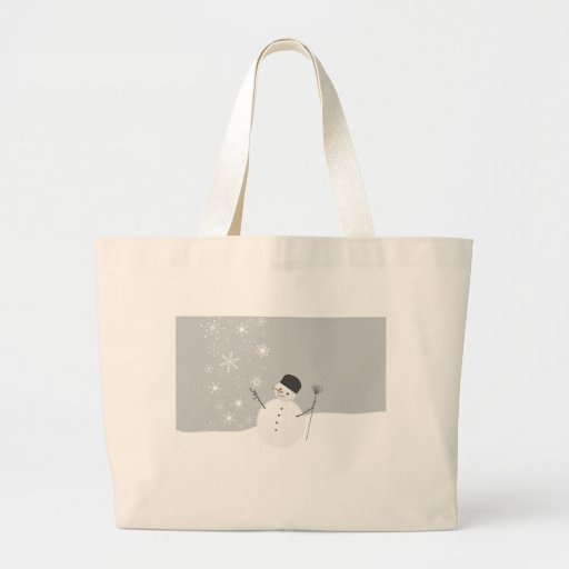 Snow Man Bags