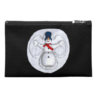 Snow Man Snow Angel Travel Accessories Bags