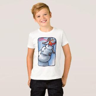 Snow man ti-shirt T-Shirt