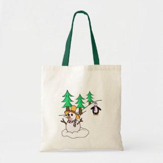 Snow man bag