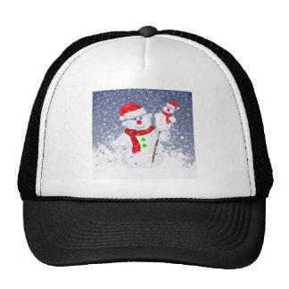 Snow men. cap