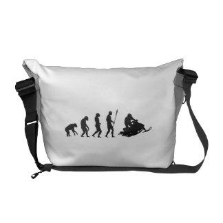 Snow Mobile Evolution Messenger Bag