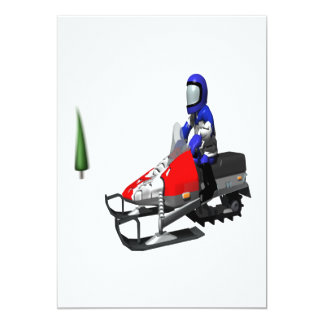 Snow Mobiling Card