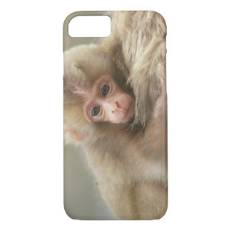 Snow Monkey Baby, Jigokudani, Nagano, Japan 2 iPhone 8/7 Case