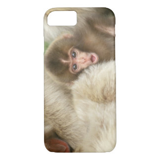 Snow Monkey Baby, Jigokudani, Nagano, Japan iPhone 8/7 Case