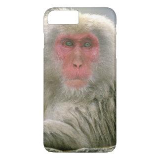 Snow Monkey Couple, Japanese Macaque, iPhone 8 Plus/7 Plus Case