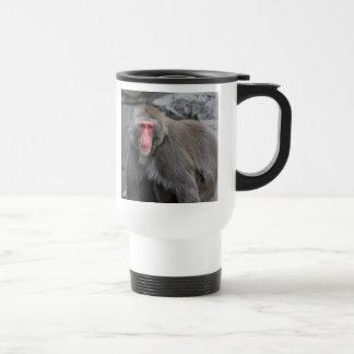 Snow Monkey Wildlife Photo Mug