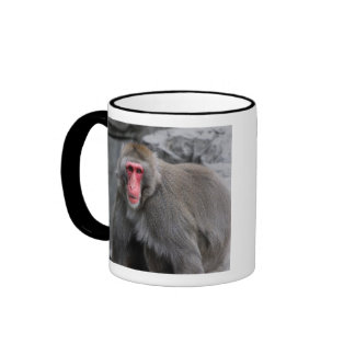 Snow Monkey Wildlife Photo Coffee Mug