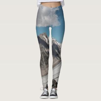 Snow mountain leggings