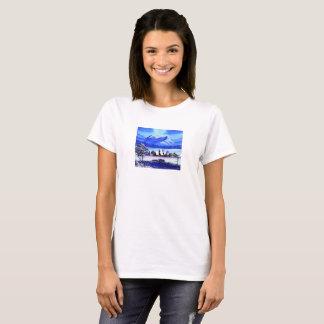 Snow mountain of arctic T-Shirt
