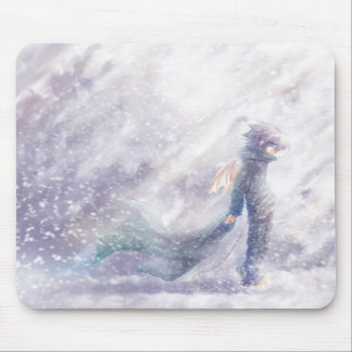 Snow Mouse Pad