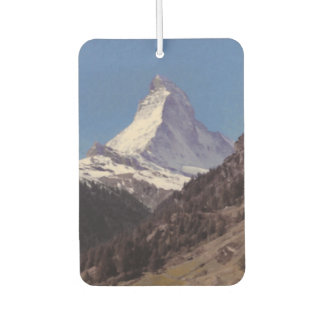 Snow on Matterhorn Mountain Air Freshener
