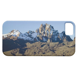 Snow on Mount Kenya iPhone 5 Case