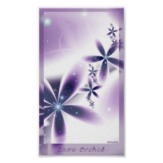 Snow Orchid -small- Print