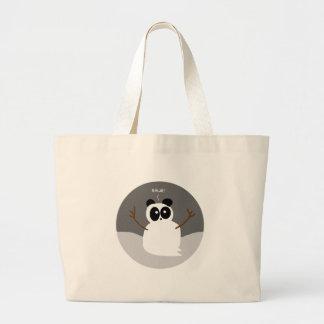 Snow Panda Jumbo Tote Bag