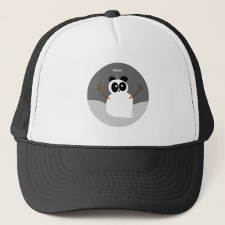 Snow Panda Trucker Hat