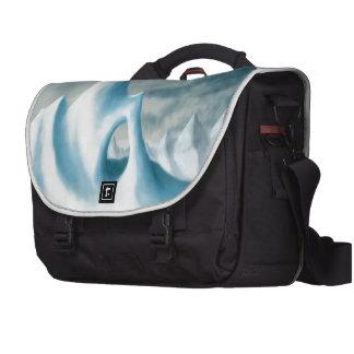 snow peak winter landscape holiday computer bag