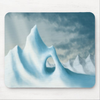 snow peak winter landscape holiday mousepads