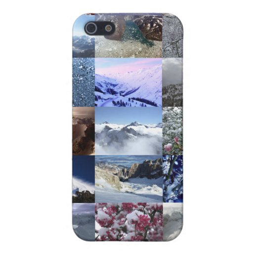 Snow Photo Collage Cases For iPhone 5