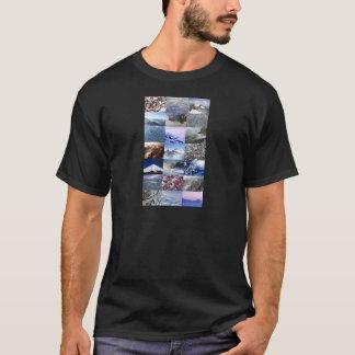 Snow Photo Collage T-Shirt