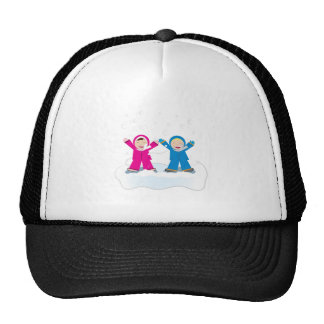 Snow Play Base Trucker Hat