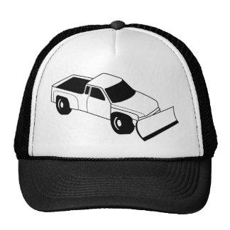 snow plow truck trucker hat