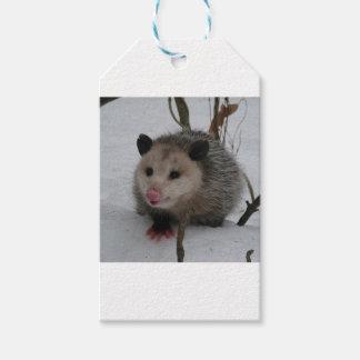 Snow Possum Gift Tags