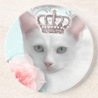 Snow Princess Drink Coasters