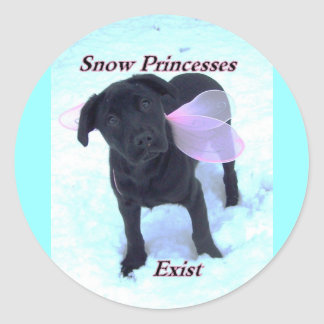 snow princesses exist stickers