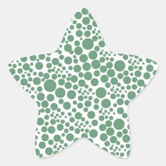 snow pünktchen scores weihnschten dots circles po star sticker