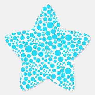 snow pünktchen scores weihnschten dots polka ret star sticker