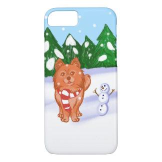 Snow Puppy iPhone 7 Case