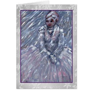 Snow Queen Art Card