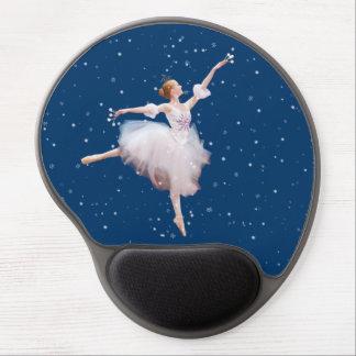 Snow Queen Ballerina Customizable Gel Mouse Pad