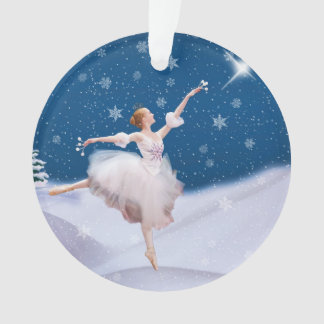 Snow Queen Ballerina Customizable Ornament