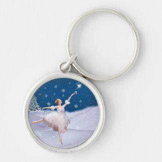Snow Queen Ballerina  Keychain