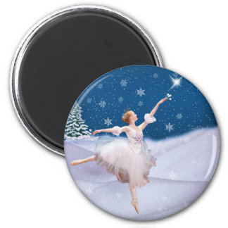 Snow Queen Ballerina  Magnet