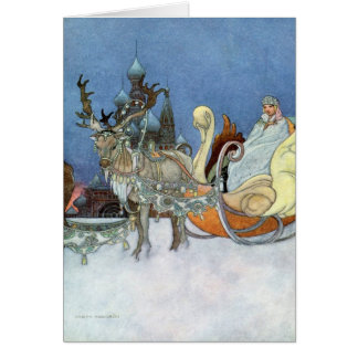 Snow Queen Ice Princess Greeting Card