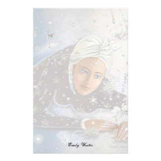 Snow Queen Letter Sheet! Stationery